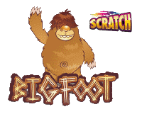big foot scratch card