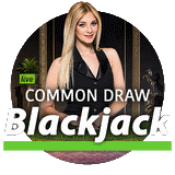 Live common draw blackjack high limit